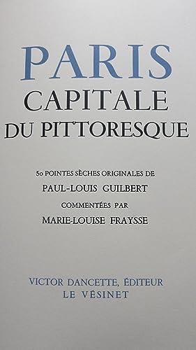 Paris capitale du pittoresque.: FRAYSSE (Marie-Louis)