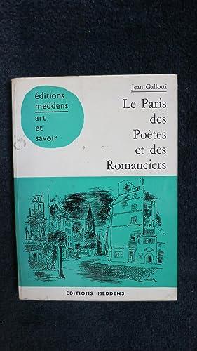 Le Paris des Poètes et des Romanciers.: GALLOTI (Jean)