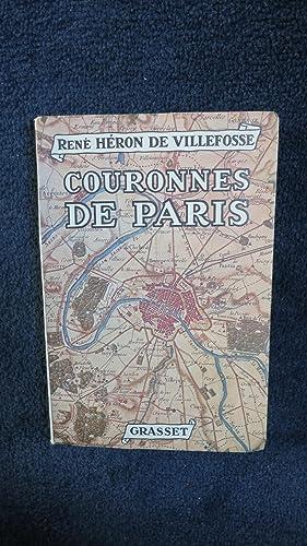 Couronnes de Paris.: HERON DE VILLEFOSSE (René)