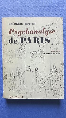 Psychanalyse de Paris.: HOFFET (Fr�d�ric)