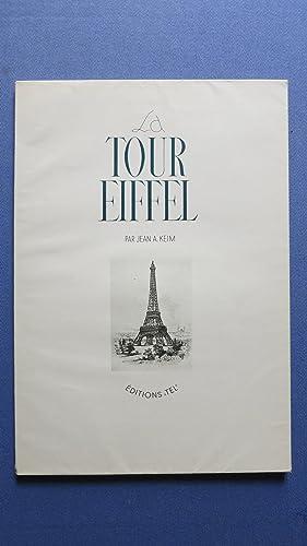 La Tour Eiffel.: KEIM (Jean A.)