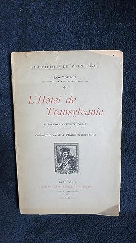 L'Hôtel de Transylvanie.: MOUTON (Léo)