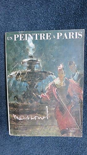 Un peintre à Paris.: MASSONET