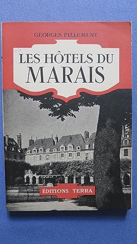 Les Hôtels du Marais.: PILLEMENT (Georges)