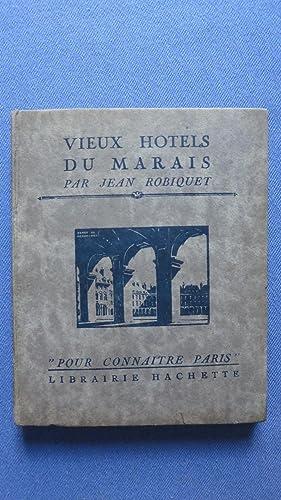 Vieux hôtels du Marais.: ROBIQUET (Jean)