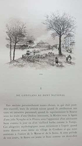 La Seine à travers Paris.: SAINT-JUIRS