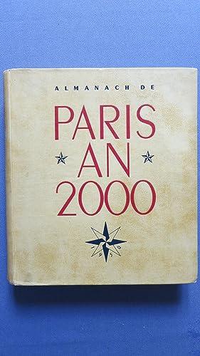 Almanach de Paris an 2000. Préface de Jean Cocteau.