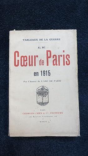 Le coeur de Paris en 1915.