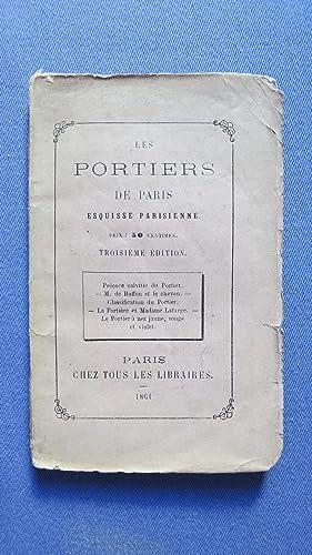 Les portiers de Paris. Esquisse parisienne.