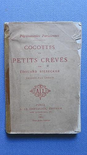Physionomies parisiennes. Cocottes et petits crevés.