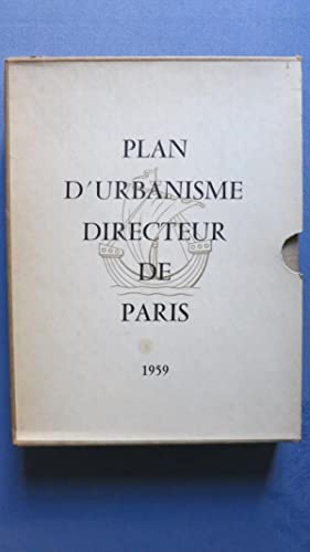 Plan d'urbanisme directeur de Paris.