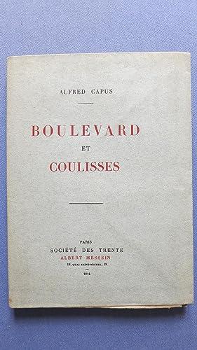 Boulevards et coulisses.: CAPUS (Alfred)