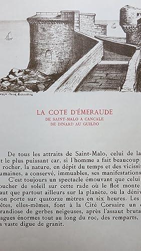 De la côte d'Emeraude à Brocéliande par la Rance. Voyage en Haute-Bretagne...