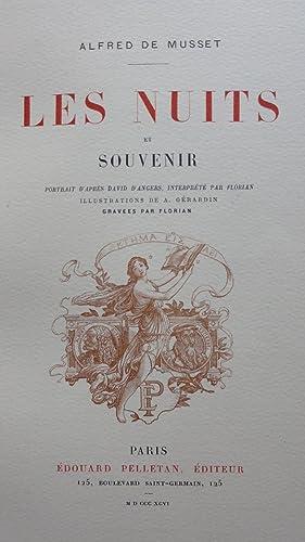 Les Nuits et Souvenir.: MUSSET (Alfred de)