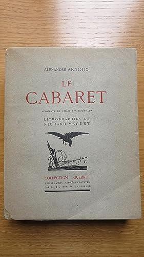 Le Cabaret. Lithographies de Richard Maguet.: ARNOUX (Alexandre)