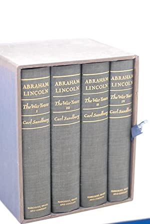 Abraham Lincoln: The War Years (Signed Inscribed: Sandburg, Carl