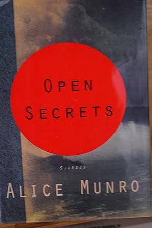 Open Secrets (Signed 1st Printing): Alice Munro