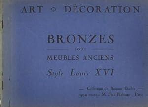 Bronzes pour meubles anciens. Style Louis XVI: RABIANT, JEAN, COLLECTION DE BRONZES APPARTENANT A M...