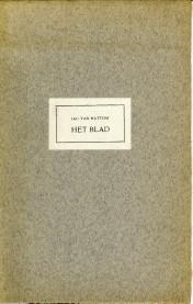 Het blad: HATTUM, JAC. VAN