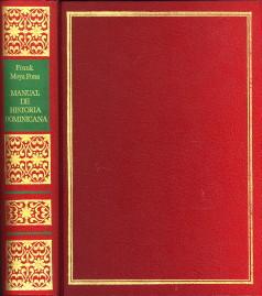 Manual de historia Dominicana: MOYA PONS, FRANK