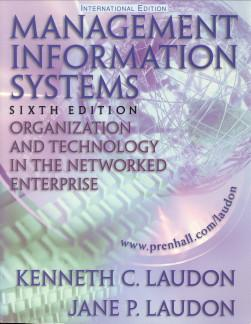 Management information systems. Organization and technology in: LAUDON, KENNETH C.