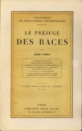 Le préjucé des races: FINOT, JEAN