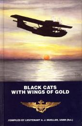 Black cats with wings of gold