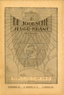 De Joodsche jeugd-krant Betsalel No. 35 tot en met 52: HOND, RABBIJN DR. M. DE (HOOFDREDACTEUR)