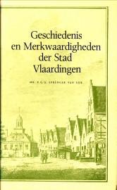 Geschiedenis en merkwaardigheden der stad Vlaardingen: SPRENGER VAN EIJK, MR. P.G.Q