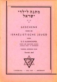 Geschenk voor de Israelietische jeugd tweede deel: KLEERKOOPER, G.G