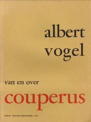 Van en over Couperus: VOGEL, ALBERT (GESCHREVEN,