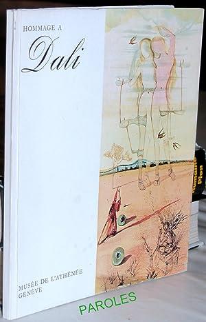 Hommage à Dali.: PEILLEX (Georges)