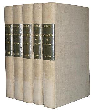 Catalogue Des Coléoptères De provence. Complet En 5 Volumes: Henri Caillol