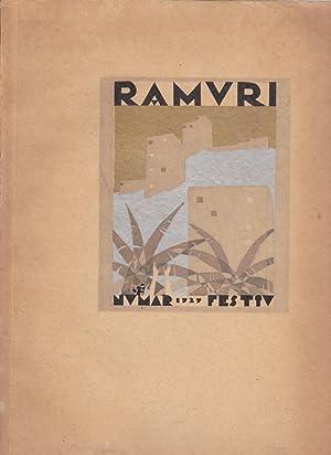 Ramuri. Numar Festiv 1905 - 1929: C. Saban - Fagetel