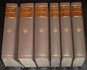 Oeuvres De La Bruyère. 6 Volumes ( Complet ): Gustave Servois