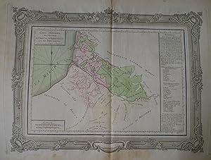 Carte Générale Des Elections d'Amiens d'Abbeville et De Doulens Divis&...