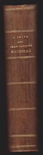 Jean Jacques Rousseau et les origines du cosmopolitisme littéraire. Étude sur les ...