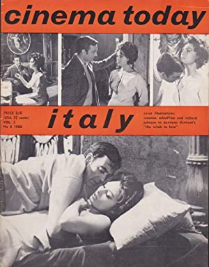 Cinema Today - Italy - vol. 2 N° 3 - 1966