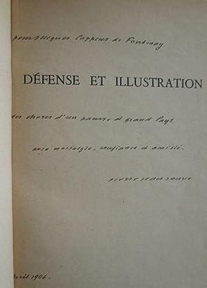 Défense et Illustration - Avec Un Bel Envoi De l'auteur.: Pierre Jean Jouve