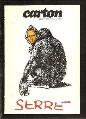 Revue Carton N°6 - Les Cahiers Du: Serre