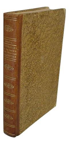 Observations sur la nature et sur le traitement du rachitisme ou des courbures de la colonne vert&...