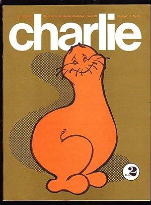 CHARLIE. Journal plein d'humour et de bandes dessinées. N°2 ( Mars 1969 ): ...