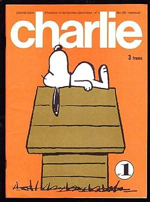 CHARLIE. Journal plein d'humour et de bandes dessinées. N°1 ( fév. 1969 ): ...