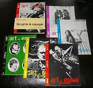 Dossiers Cinéma - Art et Essai - Revue Cinématographique N°1-2-3-4-5-6: Collectif