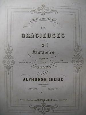 LEDUC Alphonse Mélodie Suisse Piano 1846: LEDUC Alphonse Mélodie