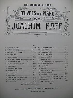 RAFF Joachim Menuet de la Reine Piano: RAFF Joachim Menuet