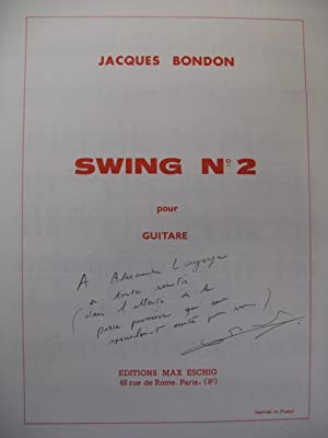 BONDON Jacques Swing n° 2 Guitare 1973