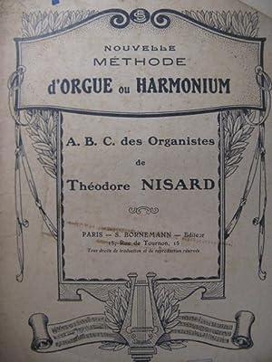 NISARD Théodore Méthode d'Orgue XIXe: NISARD Théodore Méthode