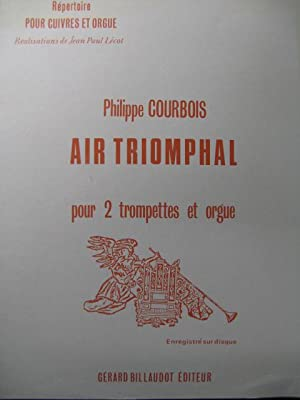 COURBOIS Philippe Air Triomphale Orgue Trompette