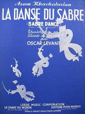 KHACHATURIAN Aram La Danse Du Sabre pour: KHACHATURIAN Aram La